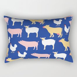 Farm Friends Rectangular Pillow