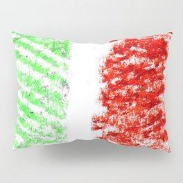 flag of Italia chalk 2- Italy,Italia,Italian,Latine,Roma,venezia,venice,mediterreanean,Genoa,firenze Pillow Sham