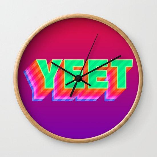 YEET Meme Colorful Typography by alicewieckowska