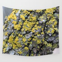 moss Wall Tapestries featuring Moss by Katerina Koza