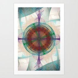 Maia Nebula Art Print