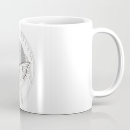 Moon Moth & Bleeding Heart Coffee Mug