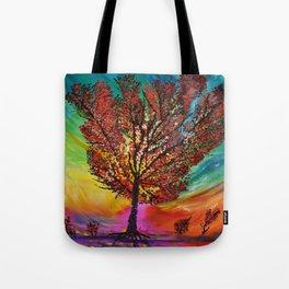 The Wow Tree Tote Bag