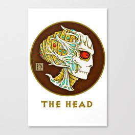 The head Canvas Print
