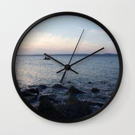 Kayaker Leith Edinburgh Wall Clock