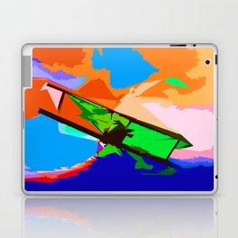 Biplane Aerobatics Laptop & iPad Skin