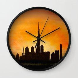 Downtown Dubai Wall Clock
