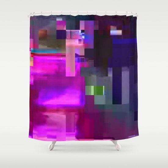 scrmbmosh247x4a Shower Curtain