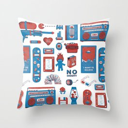 It Was Real Sweet To Be A 90's Kid Throw Pillow