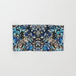 Rorschach Flowers 9 Hand & Bath Towel