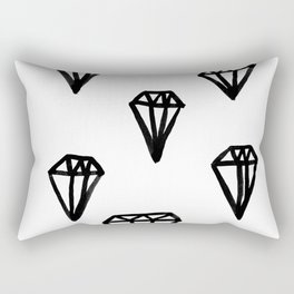 Little Rocks - Diamonds Rectangular Pillow