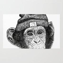 Beanie Monkey Rug