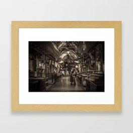 Shuk Story-Part 5 (a love story) Framed Art Print