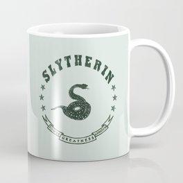 Slytherin House Coffee Mug