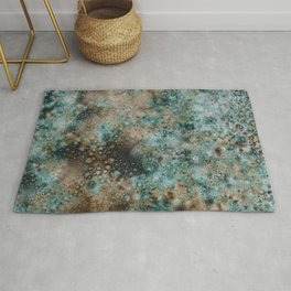 Rusting Copper Rug