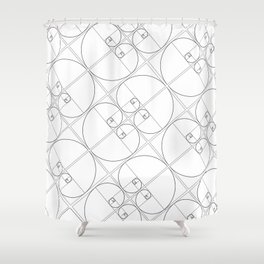 Golden Ratio (Part II) Shower Curtain