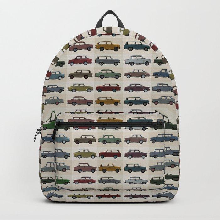 Trabant pattern Backpack