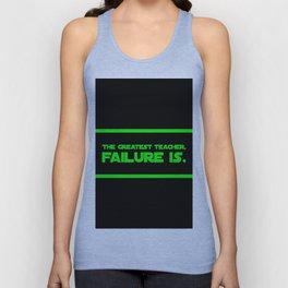 The Greatest Teacher, Failure Is Unisex Tank Top