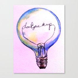 A good idea Canvas Print