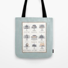EAT MY HAT Tote Bag