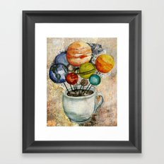 Cup o' Space Framed Art Print