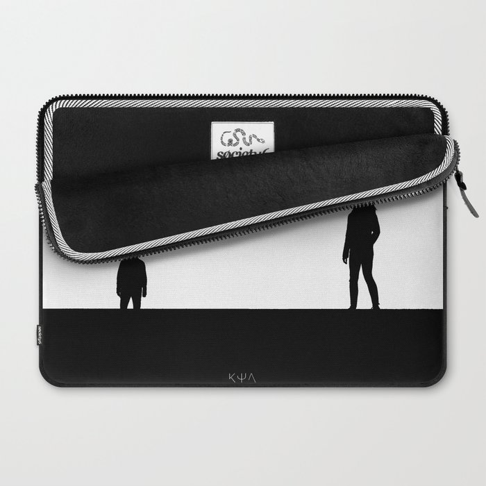 Keep Shelly in Athens (bw) Laptop Sleeve