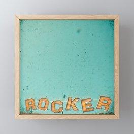 Rocker Framed Mini Art Print