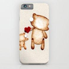 Zombie Bear - I love you! Slim Case iPhone 6s