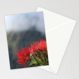 Lehua ʻUlaʻula o Kalalau Stationery Cards