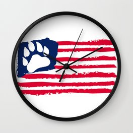 United States of Bears Wall Clock