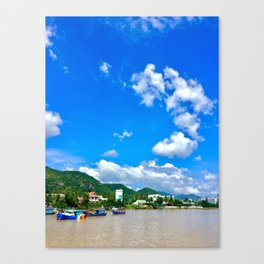 Vietnam NhaTrang Canvas Print