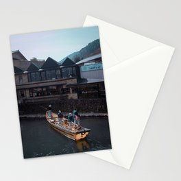 Fishing Boat in Japan Stationery Cards