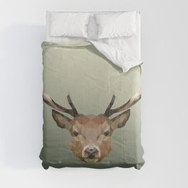 Polygon Deer Comforters