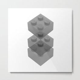 Bricklayer Metal Print