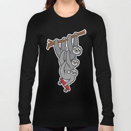 Sloth Skate Long Sleeve T-shirt