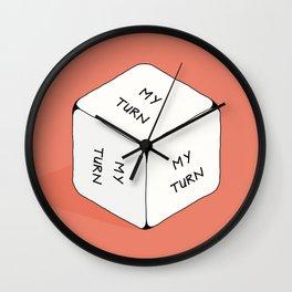 It's my turn to roll... Wall Clock