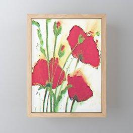 Red Poppies Framed Mini Art Print