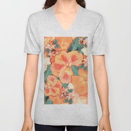 Aloha Orange Sherbet Unisex V-Neck