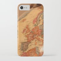 globe iPhone & iPod Cases featuring Globe by RMK Creative