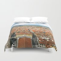 florence Duvet Covers featuring Florence by NatalieBoBatalie