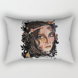 Autumn girl Rectangular Pillow