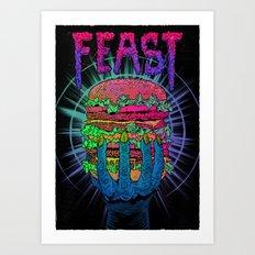 Enjoy Your Feast Art Print