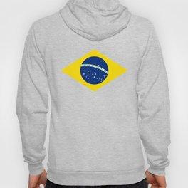 Brazil Flag Graphic Design Hoody