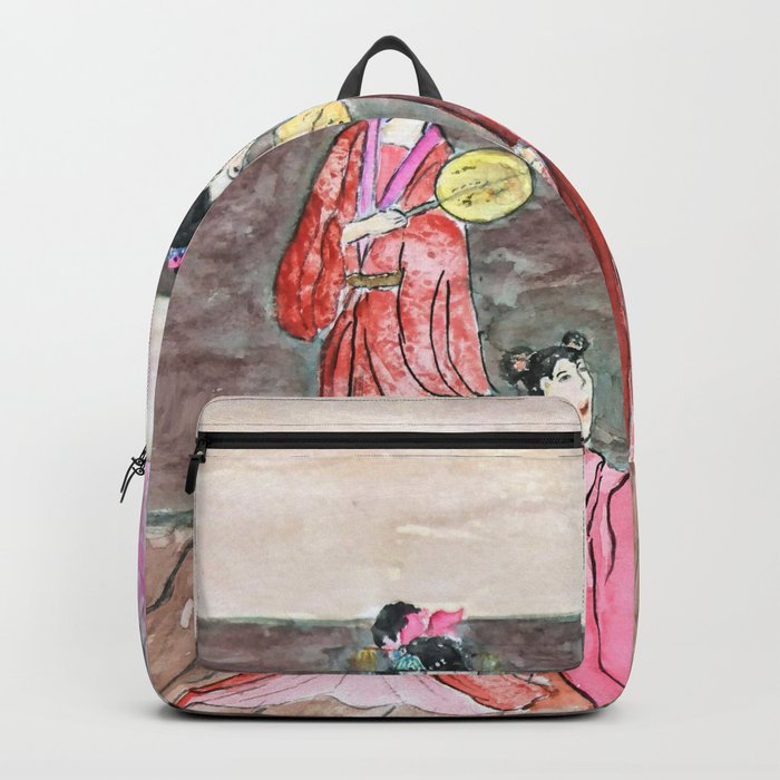 Four ancient Oriental beauties Backpack