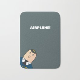 Airplane - Alternative Movie Poster Bath Mat
