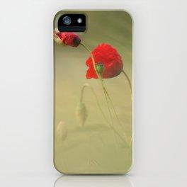 #corn #poppy iPhone Case