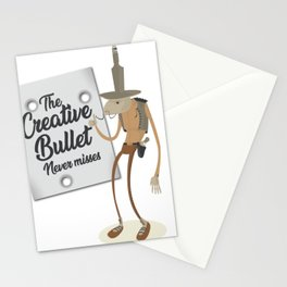 Creative bullet Stationery Cards