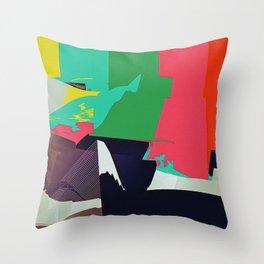 JPEGJPEGJPEGJ Throw Pillow