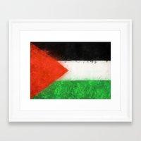 palestine Framed Art Prints featuring Palestine by 2b2dornot2b