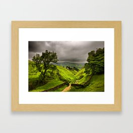 In England's green and pleasant land Framed Art Print